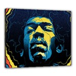 Gabz Jimi Hendrix Voodoo Child Poster Release From Dark Hall Mansion Canvas 24  x 20