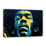 Gabz Jimi Hendrix Voodoo Child Poster Release From Dark Hall Mansion Canvas 18  x 12