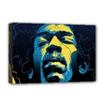 Gabz Jimi Hendrix Voodoo Child Poster Release From Dark Hall Mansion Deluxe Canvas 18  x 12