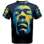 Gabz Jimi Hendrix Voodoo Child Poster Release From Dark Hall Mansion Men s Cotton Tee
