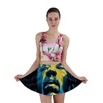 Gabz Jimi Hendrix Voodoo Child Poster Release From Dark Hall Mansion Mini Skirt