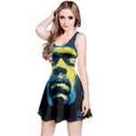 Gabz Jimi Hendrix Voodoo Child Poster Release From Dark Hall Mansion Reversible Sleeveless Dress