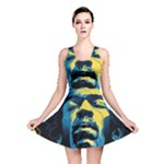 Gabz Jimi Hendrix Voodoo Child Poster Release From Dark Hall Mansion Reversible Skater Dress