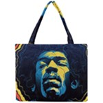 Gabz Jimi Hendrix Voodoo Child Poster Release From Dark Hall Mansion Mini Tote Bag
