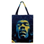 Gabz Jimi Hendrix Voodoo Child Poster Release From Dark Hall Mansion Classic Tote Bag