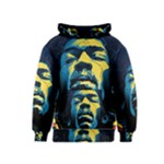 Gabz Jimi Hendrix Voodoo Child Poster Release From Dark Hall Mansion Kids  Pullover Hoodie