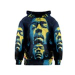 Gabz Jimi Hendrix Voodoo Child Poster Release From Dark Hall Mansion Kids  Zipper Hoodie