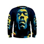 Gabz Jimi Hendrix Voodoo Child Poster Release From Dark Hall Mansion Kids  Sweatshirt