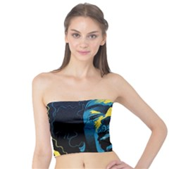 Gabz Jimi Hendrix Voodoo Child Poster Release From Dark Hall Mansion Tube Top by Onesevenart