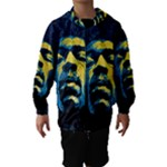 Gabz Jimi Hendrix Voodoo Child Poster Release From Dark Hall Mansion Hooded Wind Breaker (Kids)