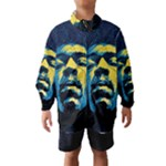 Gabz Jimi Hendrix Voodoo Child Poster Release From Dark Hall Mansion Wind Breaker (Kids)