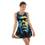 Gabz Jimi Hendrix Voodoo Child Poster Release From Dark Hall Mansion Cotton Racerback Dress