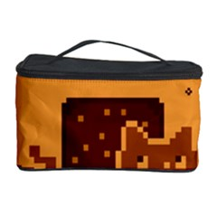 Nyan Cat Vintage Cosmetic Storage Case by Onesevenart