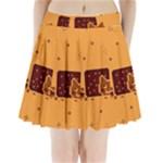 Nyan Cat Vintage Pleated Mini Skirt