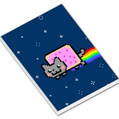 Nyan Cat Large Memo Pads by Onesevenart