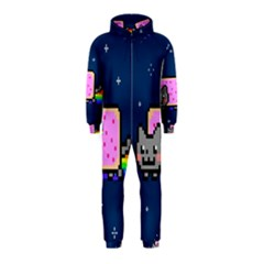 Nyan Cat Hooded Jumpsuit (kids) by Onesevenart