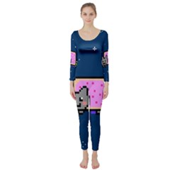 Nyan Cat Long Sleeve Catsuit by Onesevenart