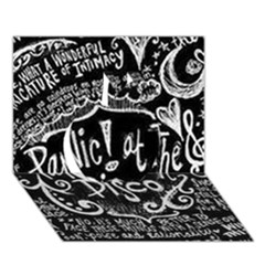 Panic ! At The Disco Lyric Quotes Apple 3d Greeting Card (7x5) by Onesevenart