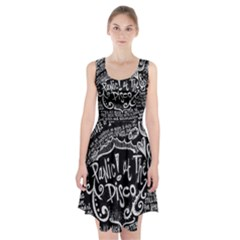 Panic ! At The Disco Lyric Quotes Racerback Midi Dress by Onesevenart