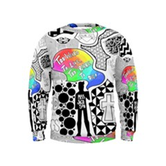 Panic ! At The Disco Kids  Sweatshirt by Onesevenart