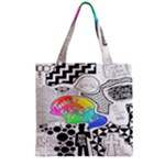 Panic ! At The Disco Zipper Grocery Tote Bag