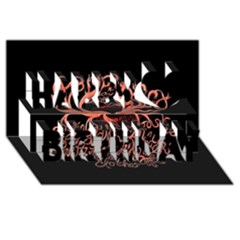 Panic At The Disco   Lying Is The Most Fun A Girl Have Without Taking Her Clothes Happy Birthday 3d Greeting Card (8x4) by Onesevenart