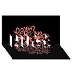 Panic At The Disco   Lying Is The Most Fun A Girl Have Without Taking Her Clothes HUGS 3D Greeting Card (8x4)