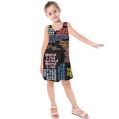 Panic At The Disco Northern Downpour Lyrics Metrolyrics Kids  Sleeveless Dress by Onesevenart