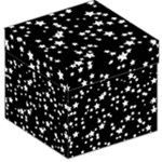 Black And White Starry Pattern Storage Stool 12