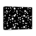 Black And White Starry Pattern Deluxe Canvas 14  x 11