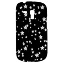 Black And White Starry Pattern Samsung Galaxy S3 MINI I8190 Hardshell Case View2