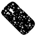 Black And White Starry Pattern Samsung Galaxy S3 MINI I8190 Hardshell Case View5