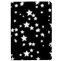 Black And White Starry Pattern iPad Mini 2 Flip Cases View2