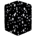 Black And White Starry Pattern iPad Mini 2 Flip Cases View3