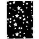 Black And White Starry Pattern iPad Air Flip View2