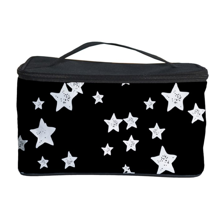 Black And White Starry Pattern Cosmetic Storage Case
