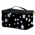 Black And White Starry Pattern Cosmetic Storage Case View3