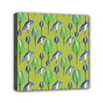 Tropical Floral Pattern Mini Canvas 6  x 6