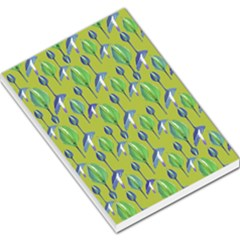 Tropical Floral Pattern Large Memo Pads