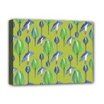 Tropical Floral Pattern Deluxe Canvas 16  x 12