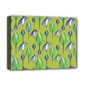 Tropical Floral Pattern Deluxe Canvas 16  x 12   View1