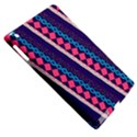 Purple And Pink Retro Geometric Pattern Apple iPad 3/4 Hardshell Case (Compatible with Smart Cover) View5