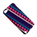 Purple And Pink Retro Geometric Pattern Apple iPod Touch 5 Hardshell Case View5