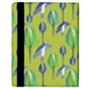 Tropical Floral Pattern Apple iPad 3/4 Flip Case View3