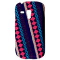 Purple And Pink Retro Geometric Pattern Samsung Galaxy S3 MINI I8190 Hardshell Case View3