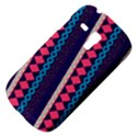 Purple And Pink Retro Geometric Pattern Samsung Galaxy S3 MINI I8190 Hardshell Case View4