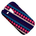 Purple And Pink Retro Geometric Pattern Samsung Galaxy S3 MINI I8190 Hardshell Case View5
