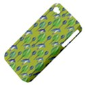 Tropical Floral Pattern Apple iPhone 4/4S Hardshell Case (PC+Silicone) View4