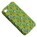 Tropical Floral Pattern Apple iPhone 4/4S Hardshell Case (PC+Silicone) View5