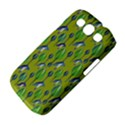 Tropical Floral Pattern Samsung Galaxy S III Classic Hardshell Case (PC+Silicone) View4